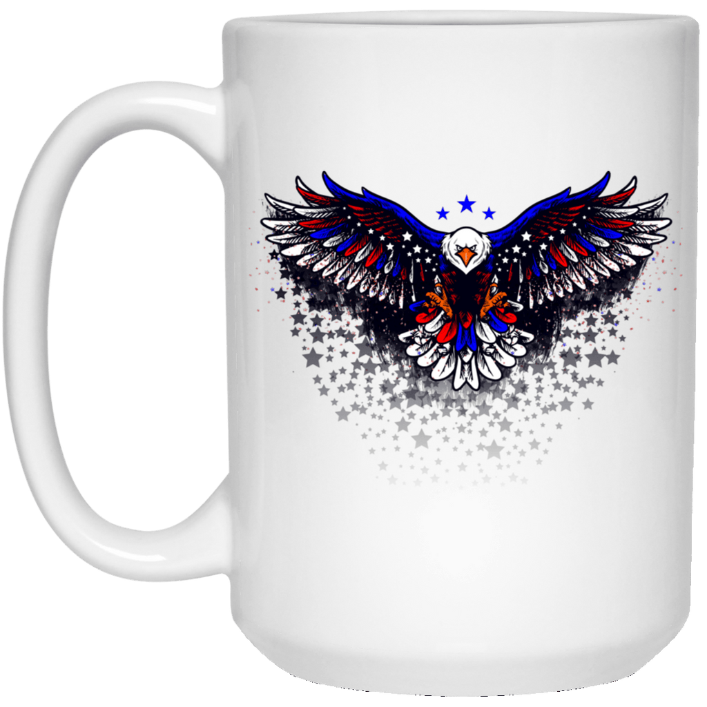 AMER EAGLE 15 oz. White Mug