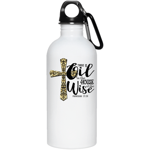 PROVERBS 20 oz. QUALITY Stainless Steel Water Bottle