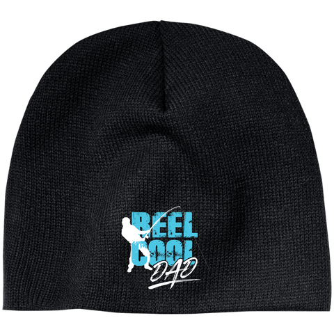 EMBROIDERED Reel Cool Dad 100% Acrylic Beanie