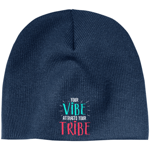 EMBROIDERED VIBE 100% Acrylic Beanie
