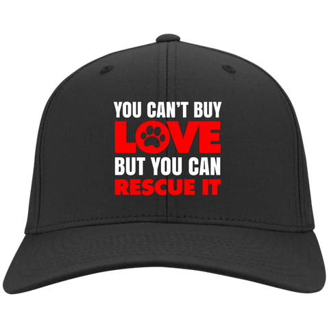 RESCUE Sport-Tek Dry Zone Nylon Cap - EMBROIDERED Design