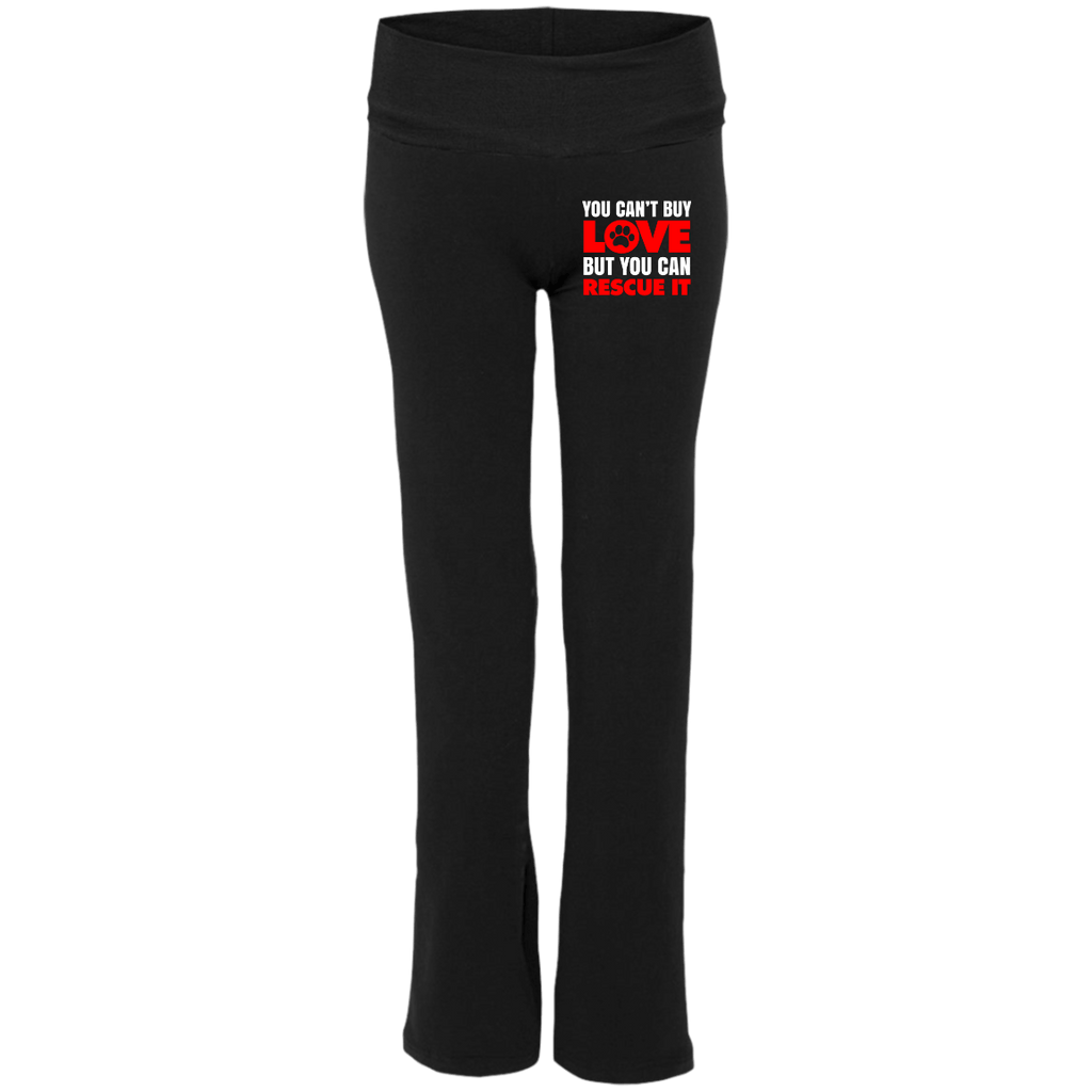 RESCUE Ladies' Yoga Pants - EMBROIDERED Design
