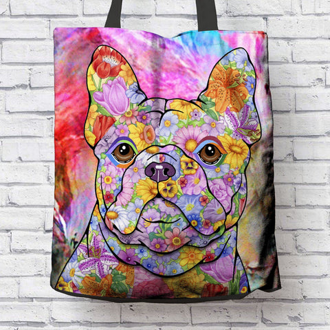 FABULOUS FRENCH BULLDOG CANVAS TOTE