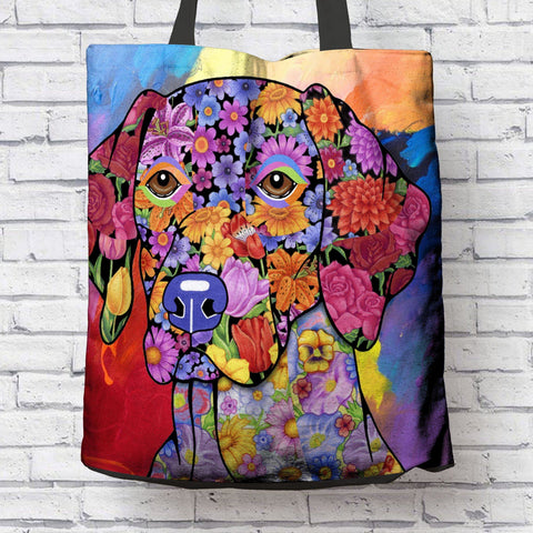 FABULOUS GERMAN SHORTHAIRED POINTER CANVAS TOTE