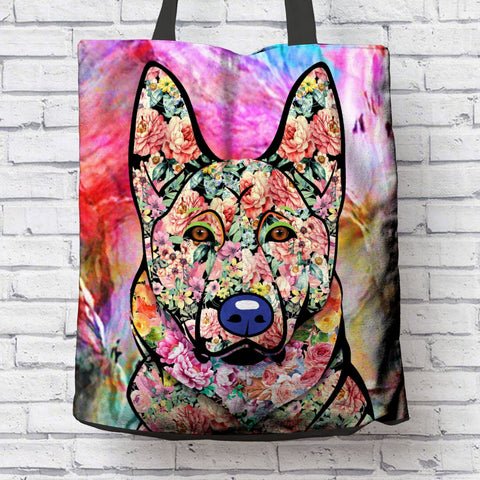 FABULOUS GERMAN SHEPHERD CANVAS TOTE