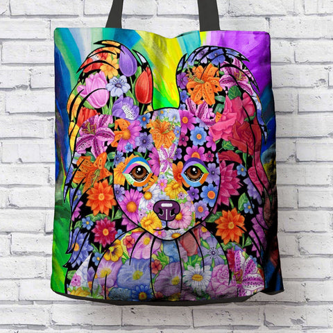 FABULOUS PAPILLON CANVAS TOTE