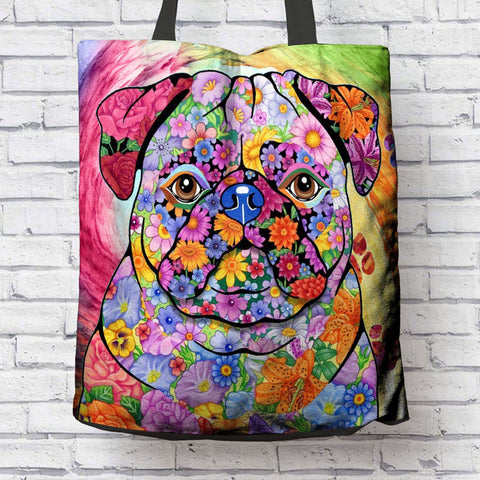 FABULOUS PUG CANVAS BAG