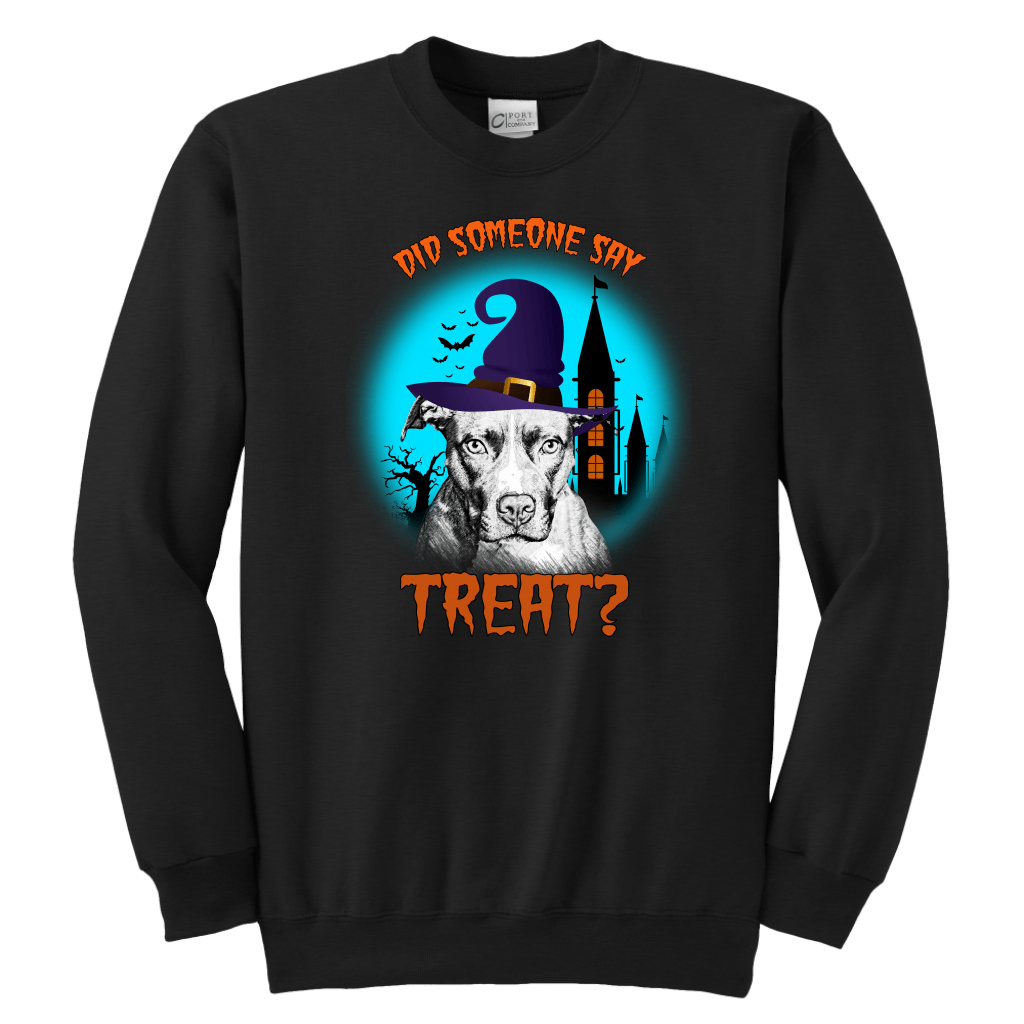 Pit Bull Treat Crewneck Sweatshirt