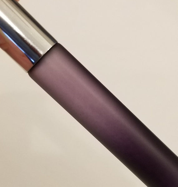 BLACK/PURPLE OMBRE ROLLERBALL BOTTLES WITH METAL ROLLERS - GREAT FOR MEN TOO!