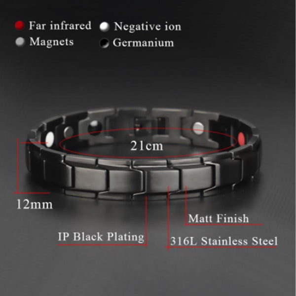 FOR DAD:  MAGNETIC THERAPY MEN'S BRACELET