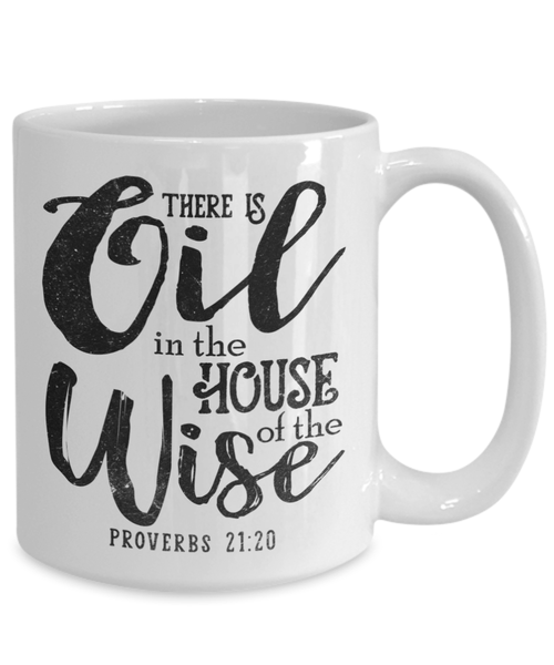 PROVERBS WHITE MUG - GB