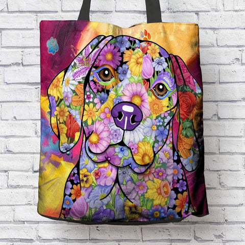 FABULOUS BEAGLE CANVAS TOTE