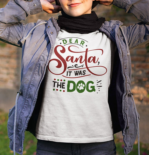FUNNY IT WAS THE DOG BELLA CANVAS TEES - UP TO 4XL - 2 COLORS
