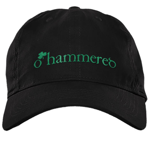 FUNNY O'HAMMERED TWILL UNSTRUCTURED DAD CAP