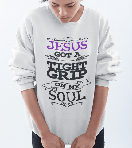 JESUS CREWNECK SWEATSHIRTS - UP TO 5XL - 4 COLORS