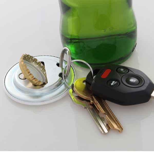 ACCEPT MAGNETIC BOTTLE OPENER/KEYCHAIN