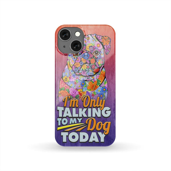 FUN PUG HARD PHONE CASE, 25+ GALAXY & iPHONE MODEL