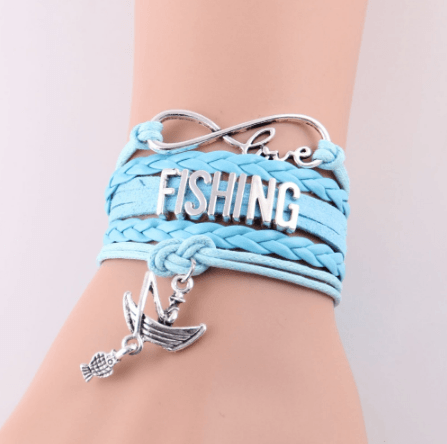 LOVE FISHING INFINITY BRACELET
