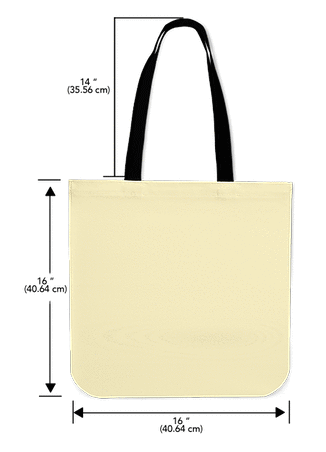 AWESOME DIFFUSE CANVAS TOTE