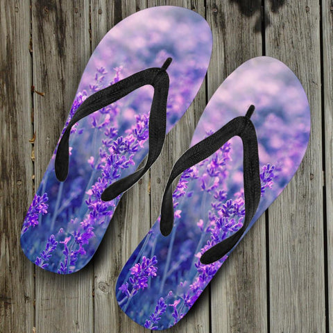 BEAUTIFUL LAVENDER FLIP FLOPS - FREE SHIPPING!