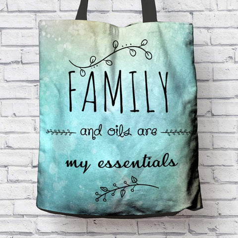 AWESOME FAMILY & OILS CANVAS TOTE