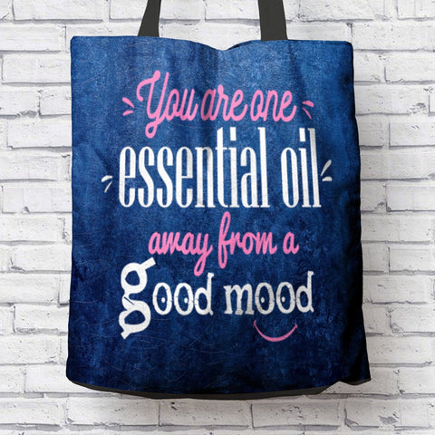 FUN GOOD MOOD CANVAS TOTE