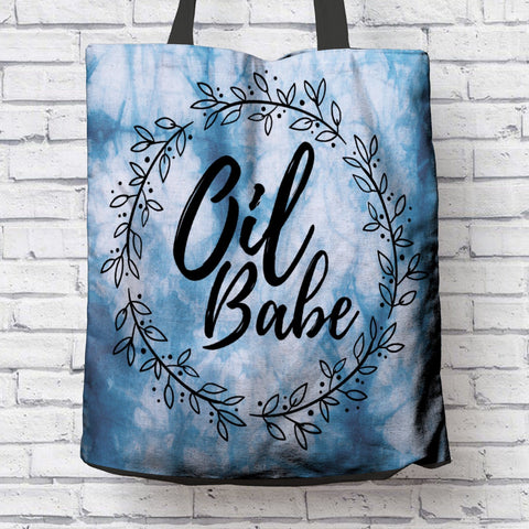 FUN OIL BABE CANVAS TOTE