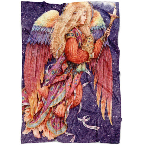 FABULOUS ANGEL FLEECE BLANKET