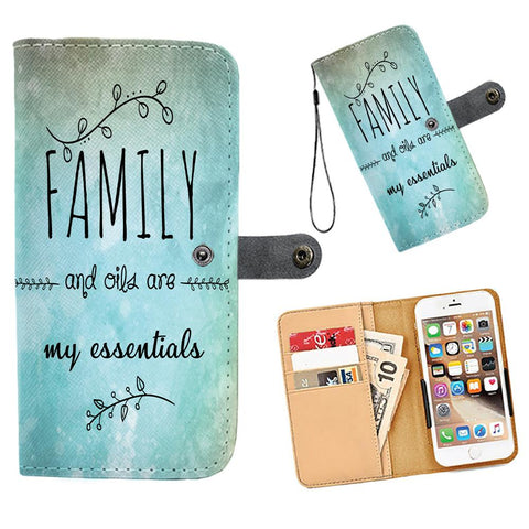 AWESOME FAMILY AND OILS WALLET & PHONE CASE -  FITS 60+ PHONES