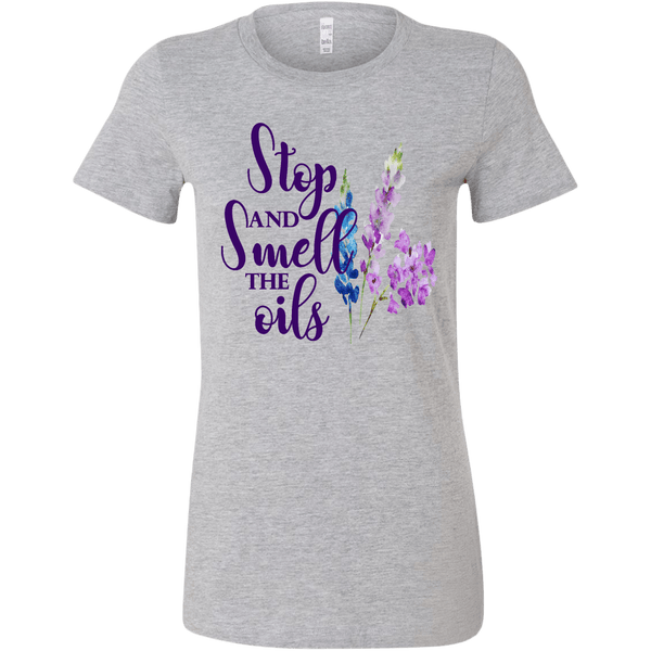 "ONE OF A KIND ""STOP & SMELL THE OILS"" T-SHIRTS"