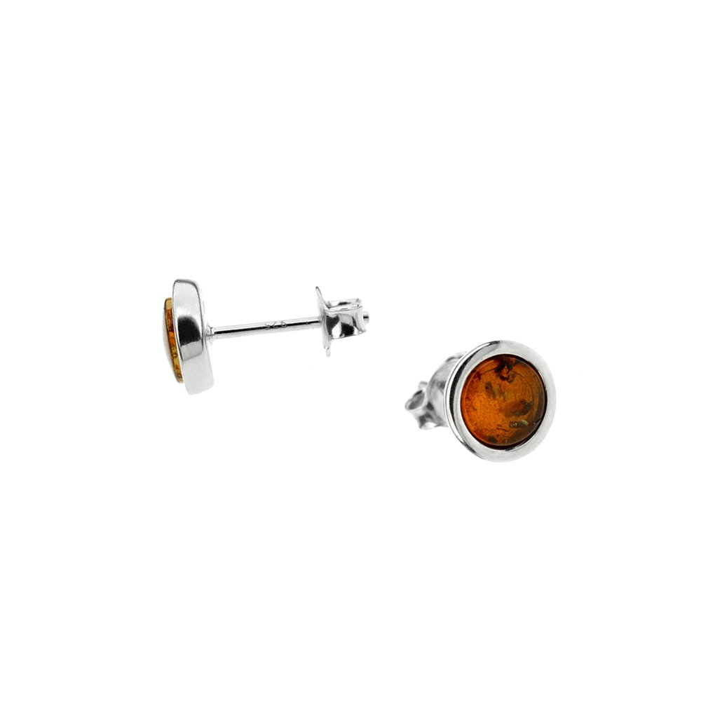 CognacBaltic Amber Earrings
