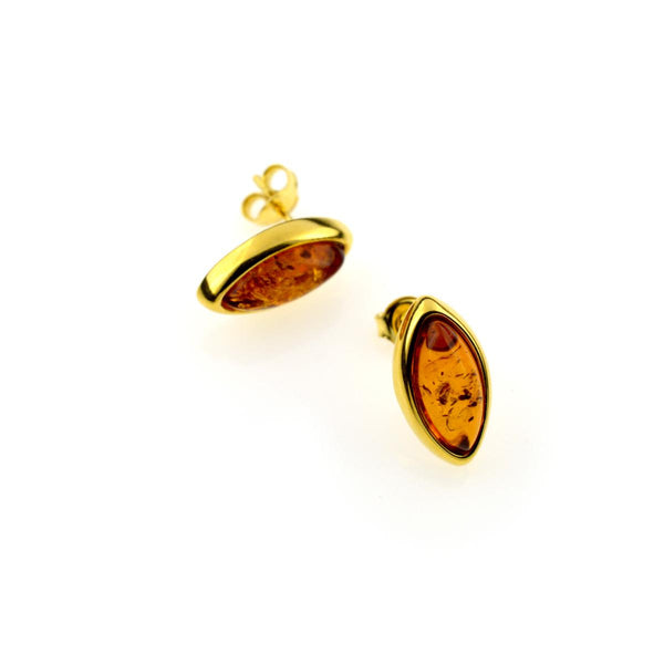 Amber Stud Earrings