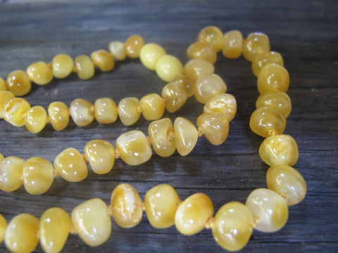 Butterscotch BALTIC AMBER NECKLACE