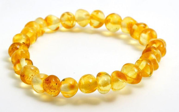 Adult Lemon Baltic Amber Bracelet