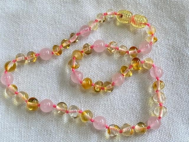 amber necklace for girls