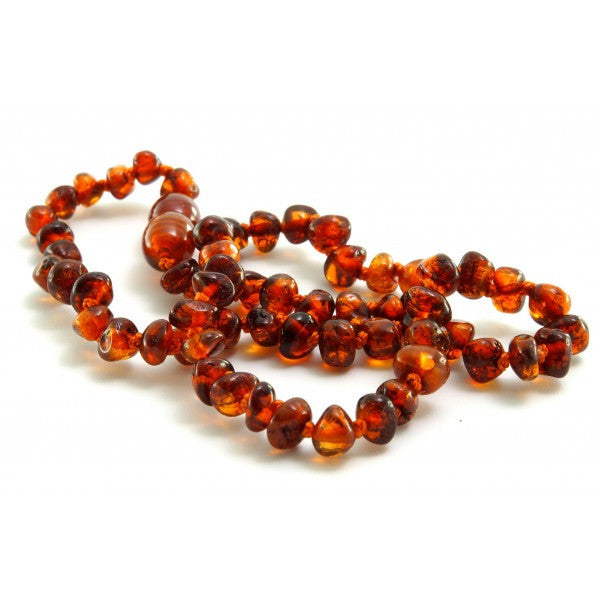 COGNAC BALTIC AMBER NECKLACES