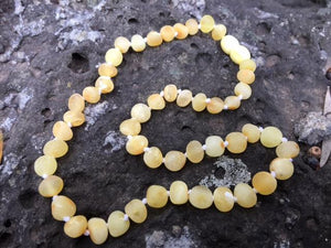 Raw Butterscotch Amber Necklace