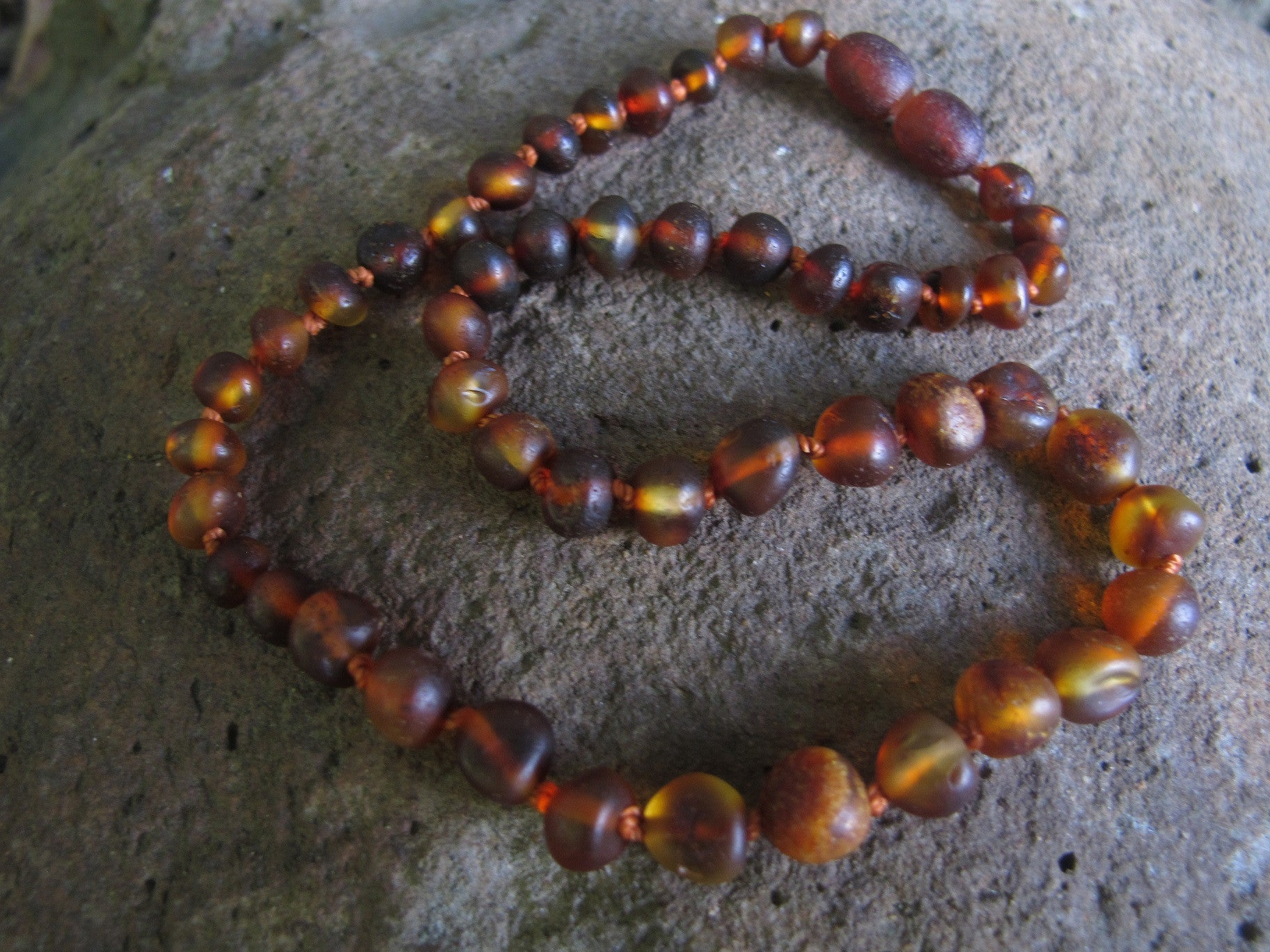 Cognac Raw Baby Bracelet / Necklace