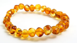 Adult Honey Baltic Amber Bracelet
