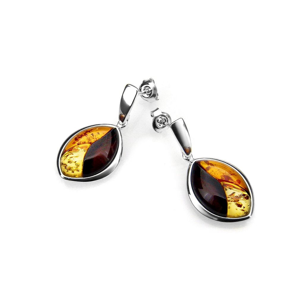 Mixed Amber  earrings