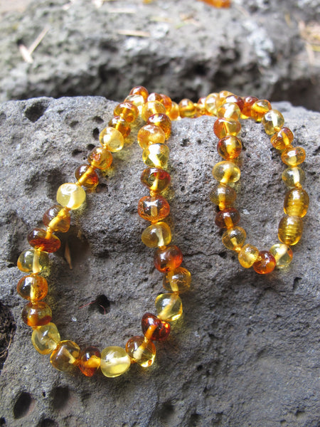 Mixed Adult Amber Necklace