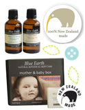 Deluxe Blue Earth Skincare Gift Box - handmade in New Zealand