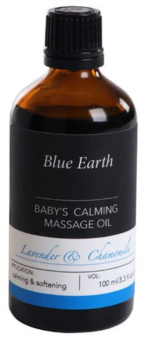 Blue Earth - Baby's Calming Massage Oil - handmade in New Zealand