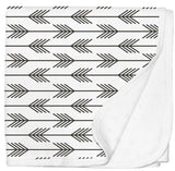 Jersey Cotton Stroller blanket - Arrows - Limited Edition