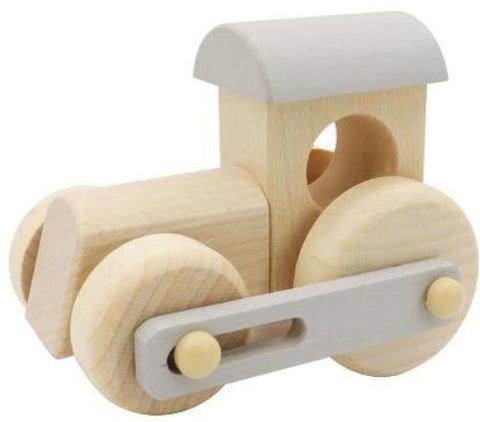 Wooden push-pull train