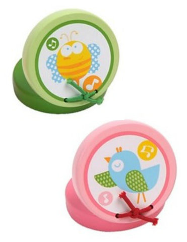 Wooden Finger Castanets - Baby