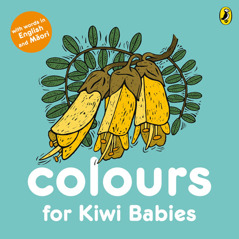Board book - Colours for Kiwi Babies - in English and Te Reo