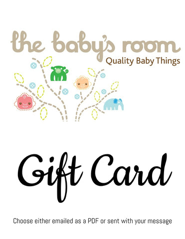 Gift voucher, gift card, gift certificate, Baby gift