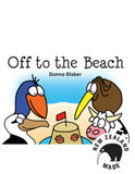 Kiwi Critters Wee Book - Off to the Beach