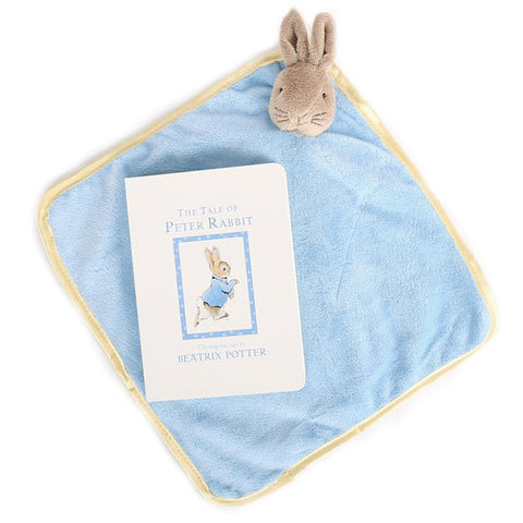 Tale of Peter Rabbit Book and Peter cuddly in a Peter Rabbit Gift Box